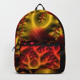 Fiery Fractal Backpack