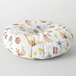 Woodland Critters Floor Pillow
