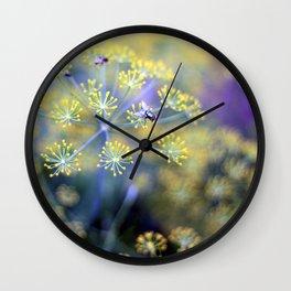 Metal Fly Wall Clock