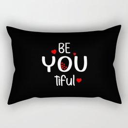 Be You Tiful Rectangular Pillow