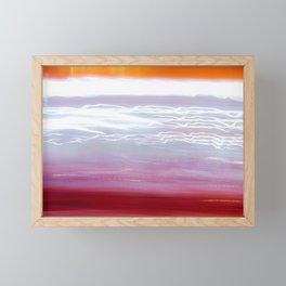Anxious Framed Mini Art Print