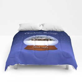 Christmas Blessings Comforters