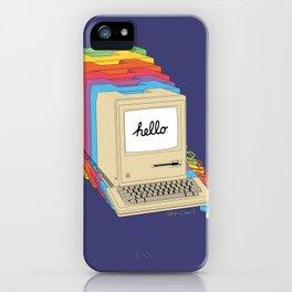 Macintosh Cascade iPhone Case