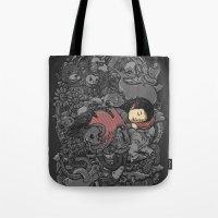 dreams Tote Bags featuring Dreams by Alex Solis