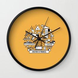 Creation in progress V3 Wall Clock