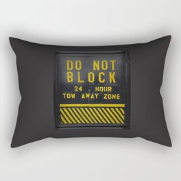 do not block Rectangular Pillow