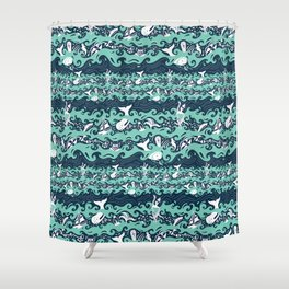 Call Me Ishmael Shower Curtain