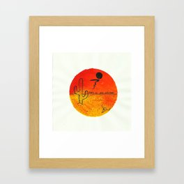 THIS IS NO NEVADA Framed Art Print