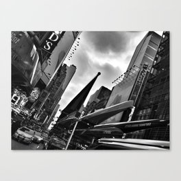 Trailering Glamour Canvas Print