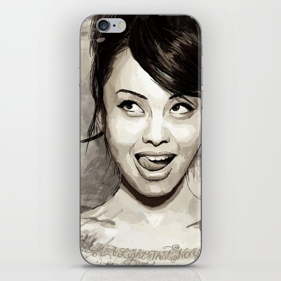 Levy Tran iPhone & iPod Skin