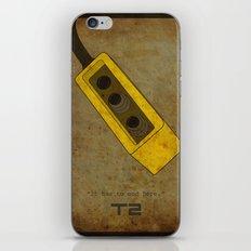 Alternative Terminator 2 Movie Poster iPhone & iPod Skin