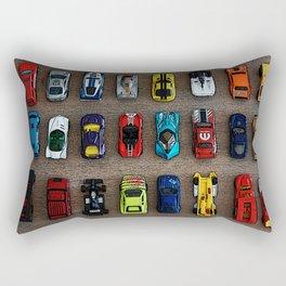 1980's Toy Cars Rectangular Pillow