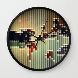 ColorCode Wall Clock