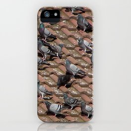 Pigeons on the Roof iPhone Case