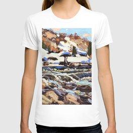 12,000pixel-500dpi - Tom Thomson - The Rapids - Digital Remastered Edition T-shirt