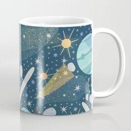 Colorful Abstract Space Background Pattern Coffee Mug