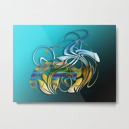 Power and positive energy, 1 Metal Print