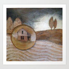 Country Comforts Art Print