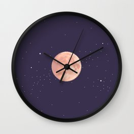 Supermoon Wall Clock