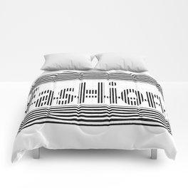 Fashion B and W Comforters