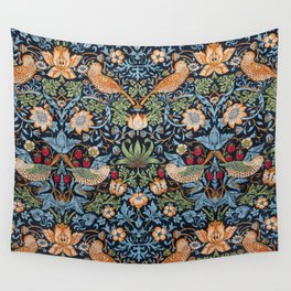 Strawberry Thief Wall Tapestry