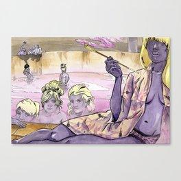 Bath House 2 Canvas Print
