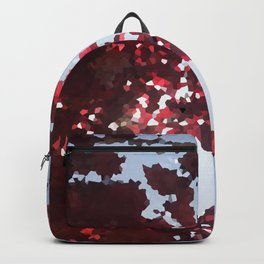 Tree with red leaves Backpack