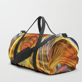 Bath Abbey Sun Rays Van Gogh Duffle Bag