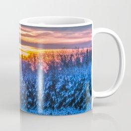 Magic winter sunset Coffee Mug