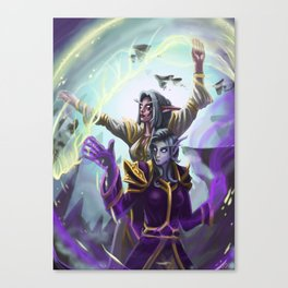 Divine Cooperation Canvas Print