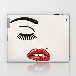 GIRL FACE - EYE - LIPS Laptop & iPad Skin