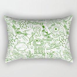 School Chemical pattern #1 Rectangular Pillow