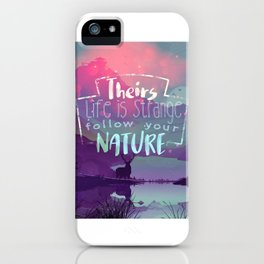 Life is Strange iPhone Case