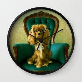 Nice Sweet Dog Wall Clock