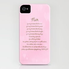 Mum Slim Case iPhone (4, 4s)