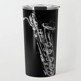 Baritone Saxophone Travel Mug
