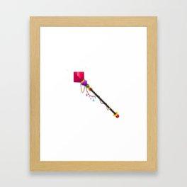 Mugic Wand Framed Art Print