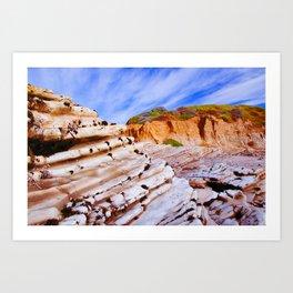 Rock Steps  Art Print