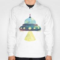 spaceship Hoodies featuring Spaceship. by Dani Does Art