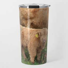 Highland Calf Travel Mug