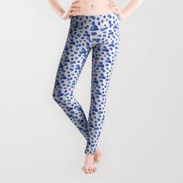 Indigo Blueberries Leggings