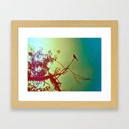 chirp. Framed Art Print