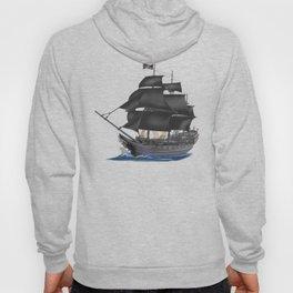 Pirate Ship at Sunset Hoody