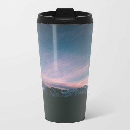 Mount Saint Helens III Metal Travel Mug