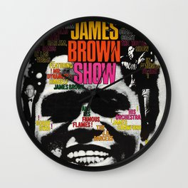 Vintage German Poster - Godfather of Soul Wall Clock
