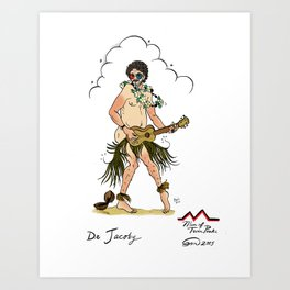 Dr. Jacoby Pin-up Art Print