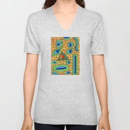 Collection of different Shapes with Double Fillings Unisex V-Neck