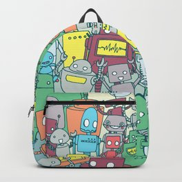 Robot Party Backpack