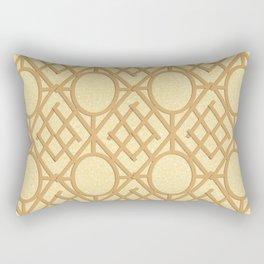 Wooden Trellis Rectangular Pillow