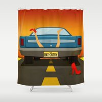 desert Shower Curtains featuring Desert by Jared Hardy